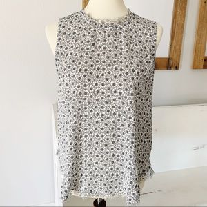 Who what wear daisy print sleeveless top